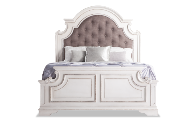 Scarlett Queen Bed Bob S, Bobs Furniture Queen Size Bed