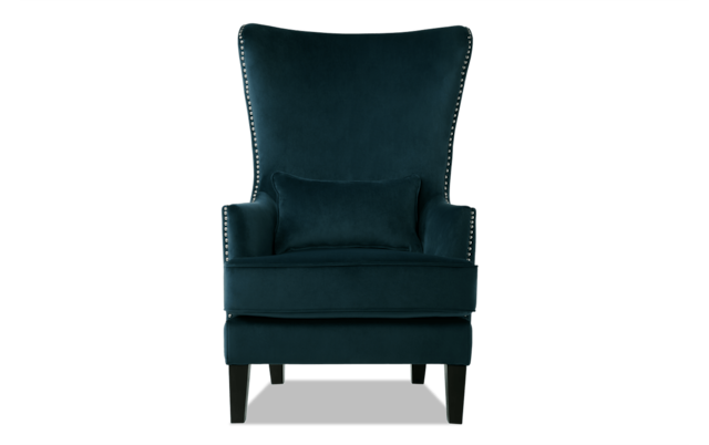 Jackie White Accent Chair