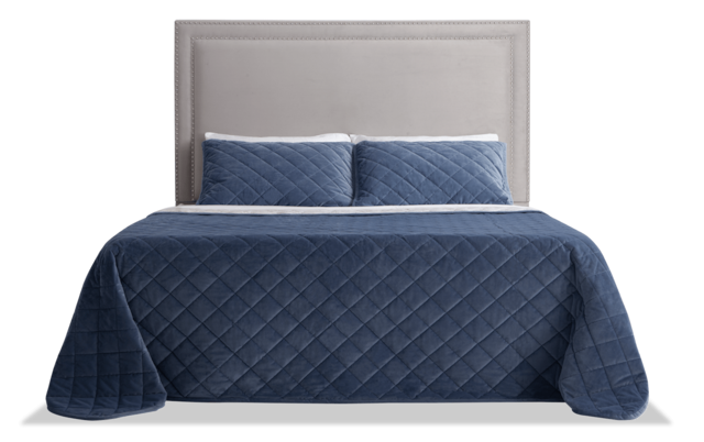 Tremont Queen Gray Upholstered, Bobs Furniture Headboards