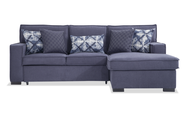 Playscape Gray Left Arm Facing Sectional