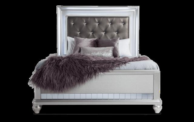 Diva Ii Queen Bed Bob S, Bobs Furniture Queen Size Bed