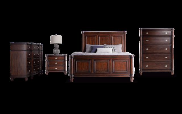 Hanover Queen Storage Bedroom Set Bob, Bobs Furniture Queen Size Bed