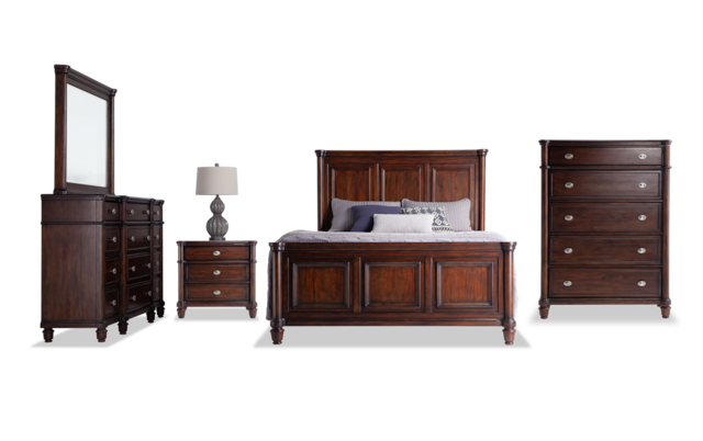 Hanover Queen Storage Bedroom Set