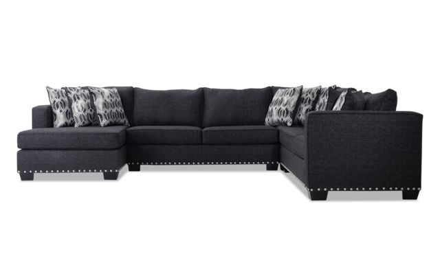 Symphony 4 Piece Right Arm Facing Sectional