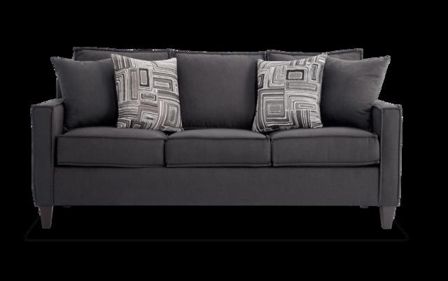 Jessie 72'' Gray Sofa | Bobs.com