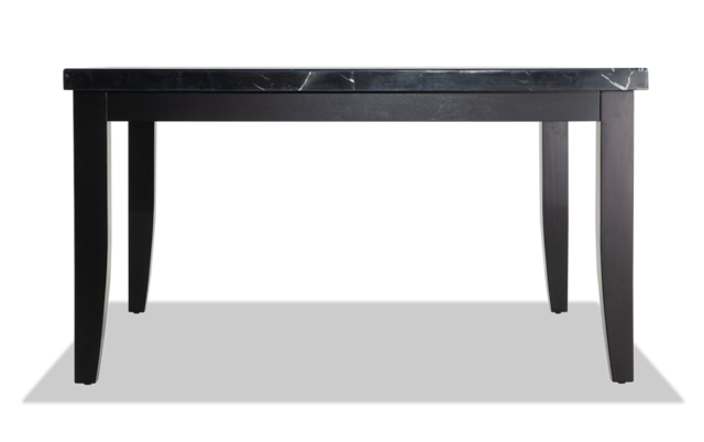 Montibello 54 X 54 Black Marble Dining Table Bobs Com