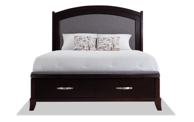 Elevations Queen Storage Bed Bob S, Bobs Furniture Queen Size Bed