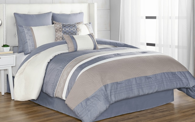 Mckay 8 Piece King Comforter Set