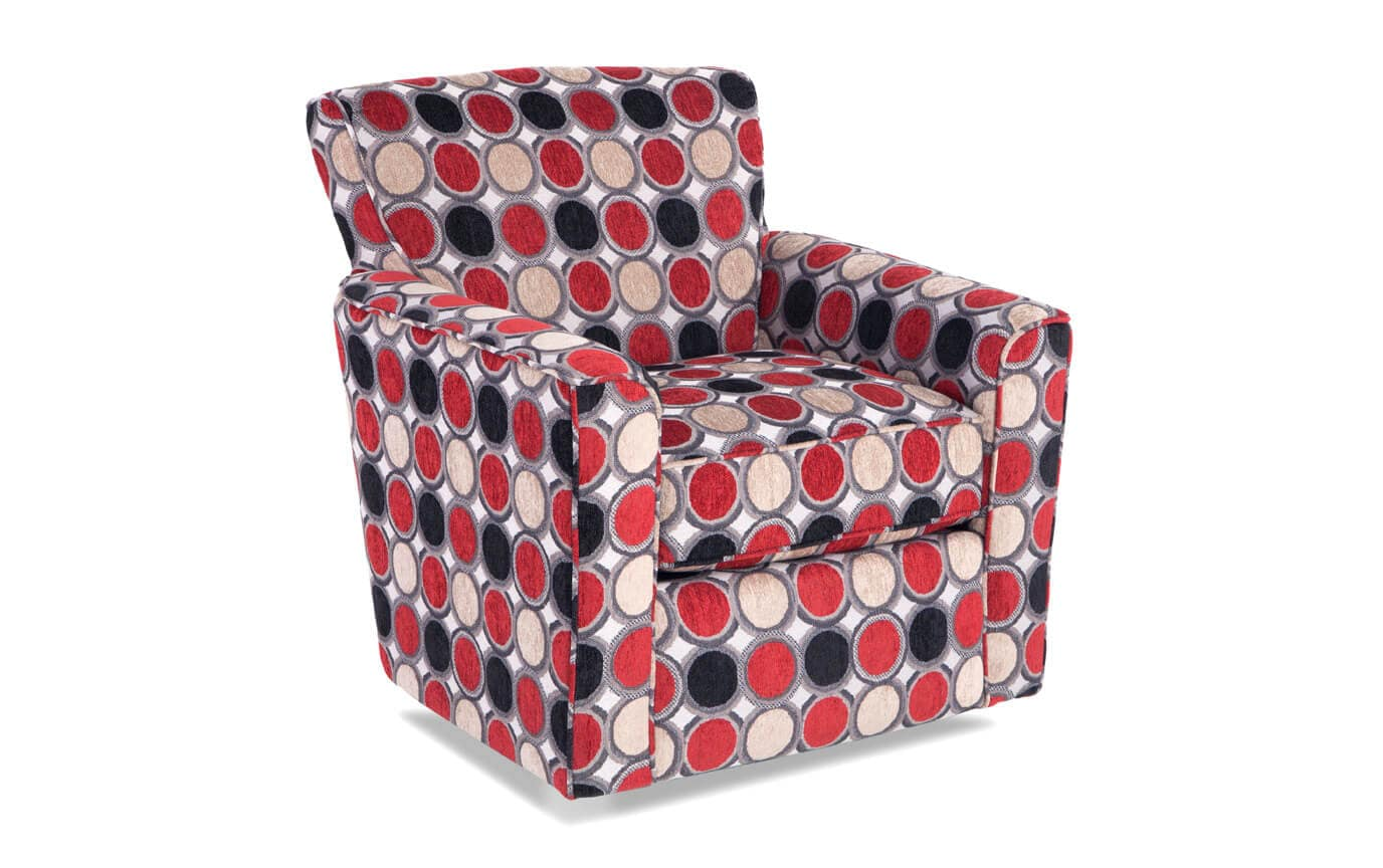 Brilliant Mercury Compass Scarlet Swivel Glider Chair Bralicious Painted Fabric Chair Ideas Braliciousco