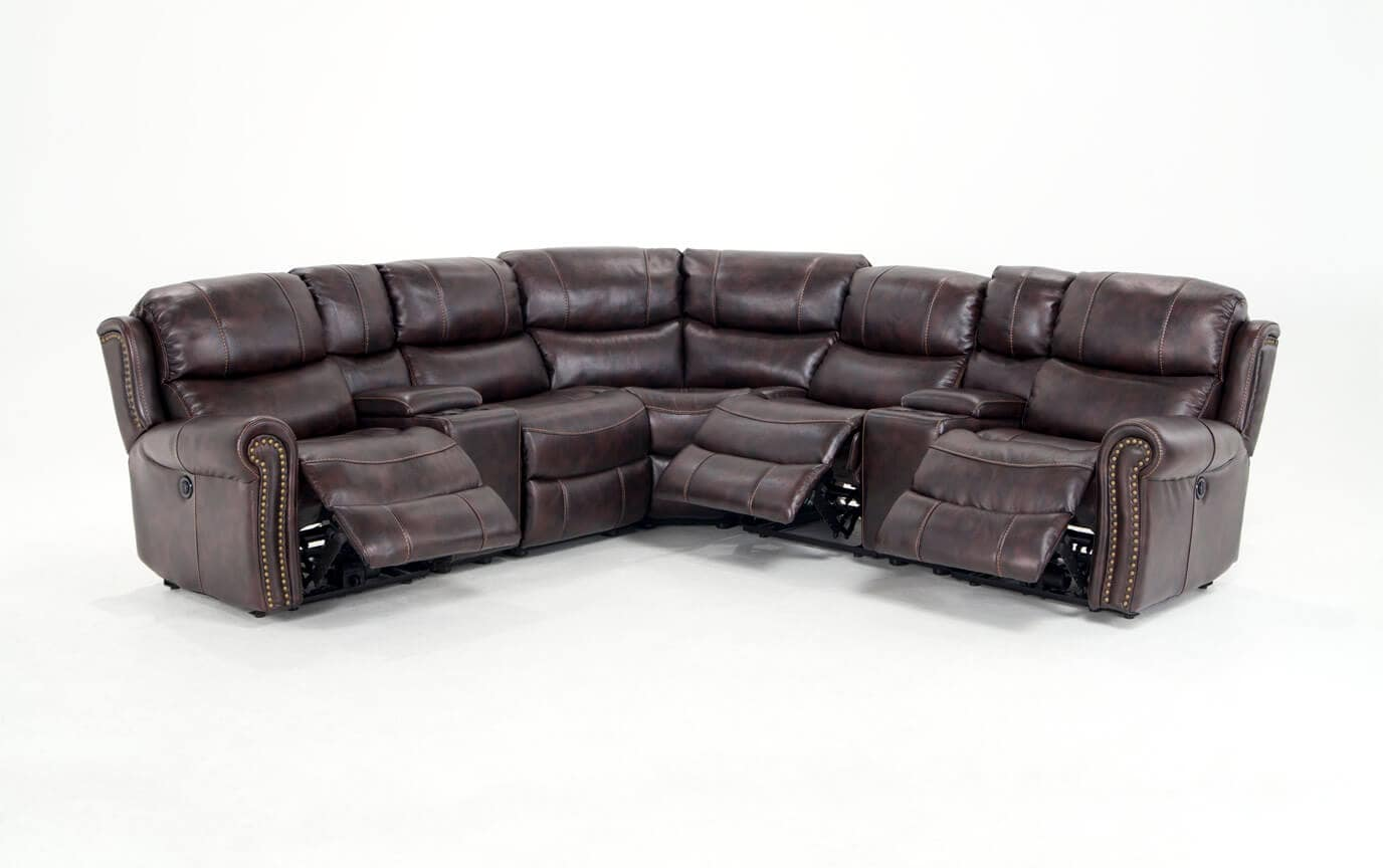 Brilliant Lannister 7 Piece Power Reclining Sectional Dailytribune Chair Design For Home Dailytribuneorg
