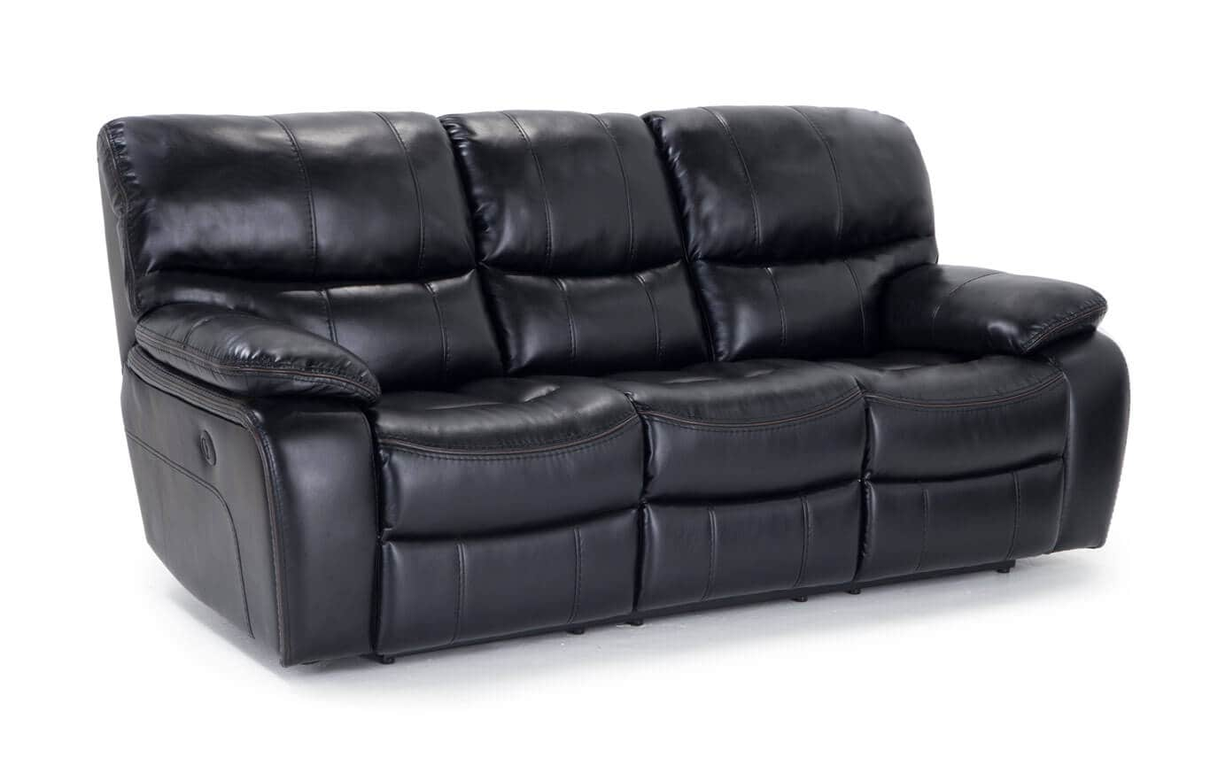Avenger Gray Power Reclining Sofa