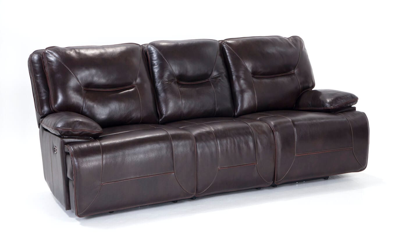 Brilliant Marco Leather Power Reclining Sofa Pabps2019 Chair Design Images Pabps2019Com