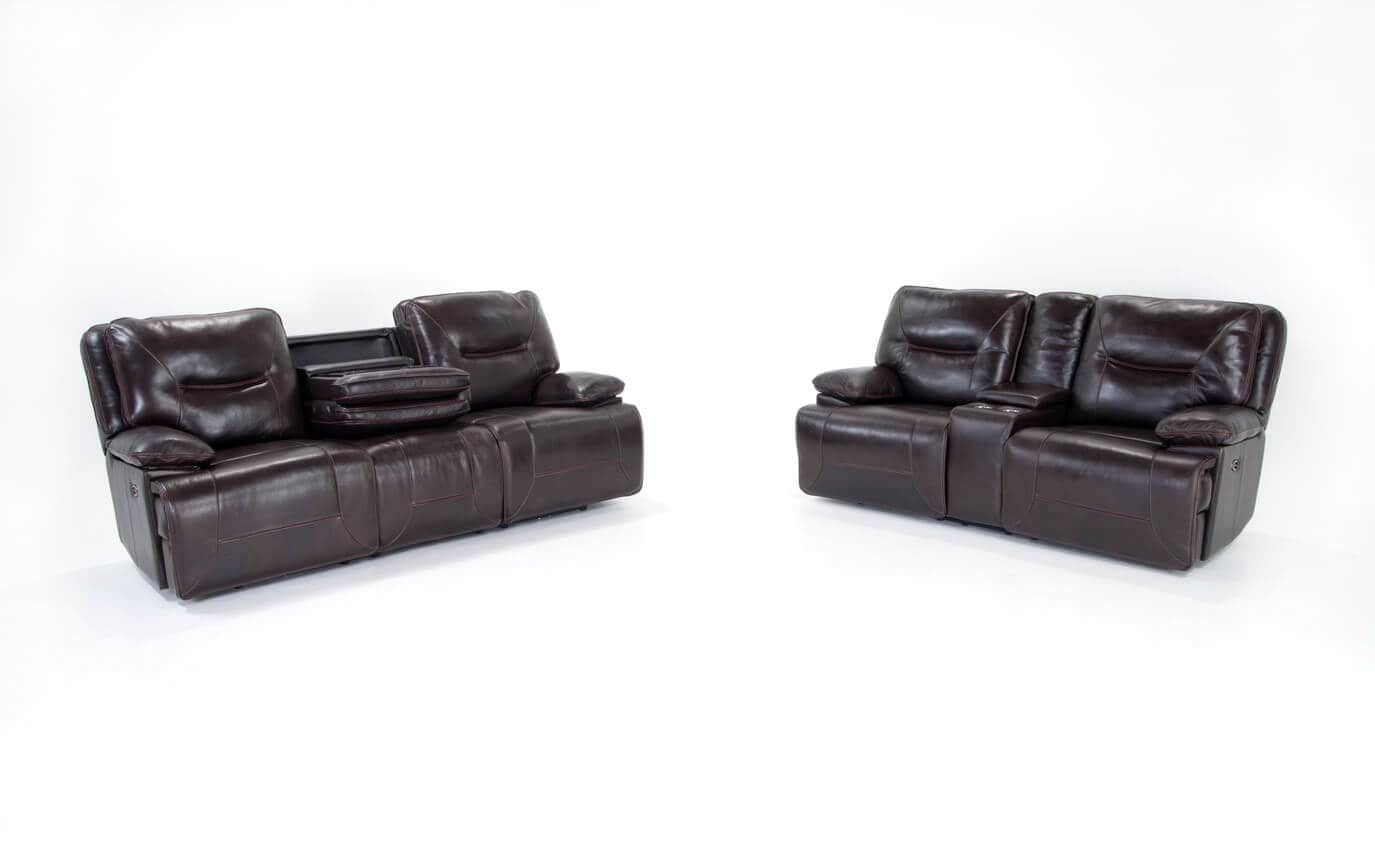Pleasant Marco Leather Power Reclining Sofa Power Reclining Loveseat Caraccident5 Cool Chair Designs And Ideas Caraccident5Info
