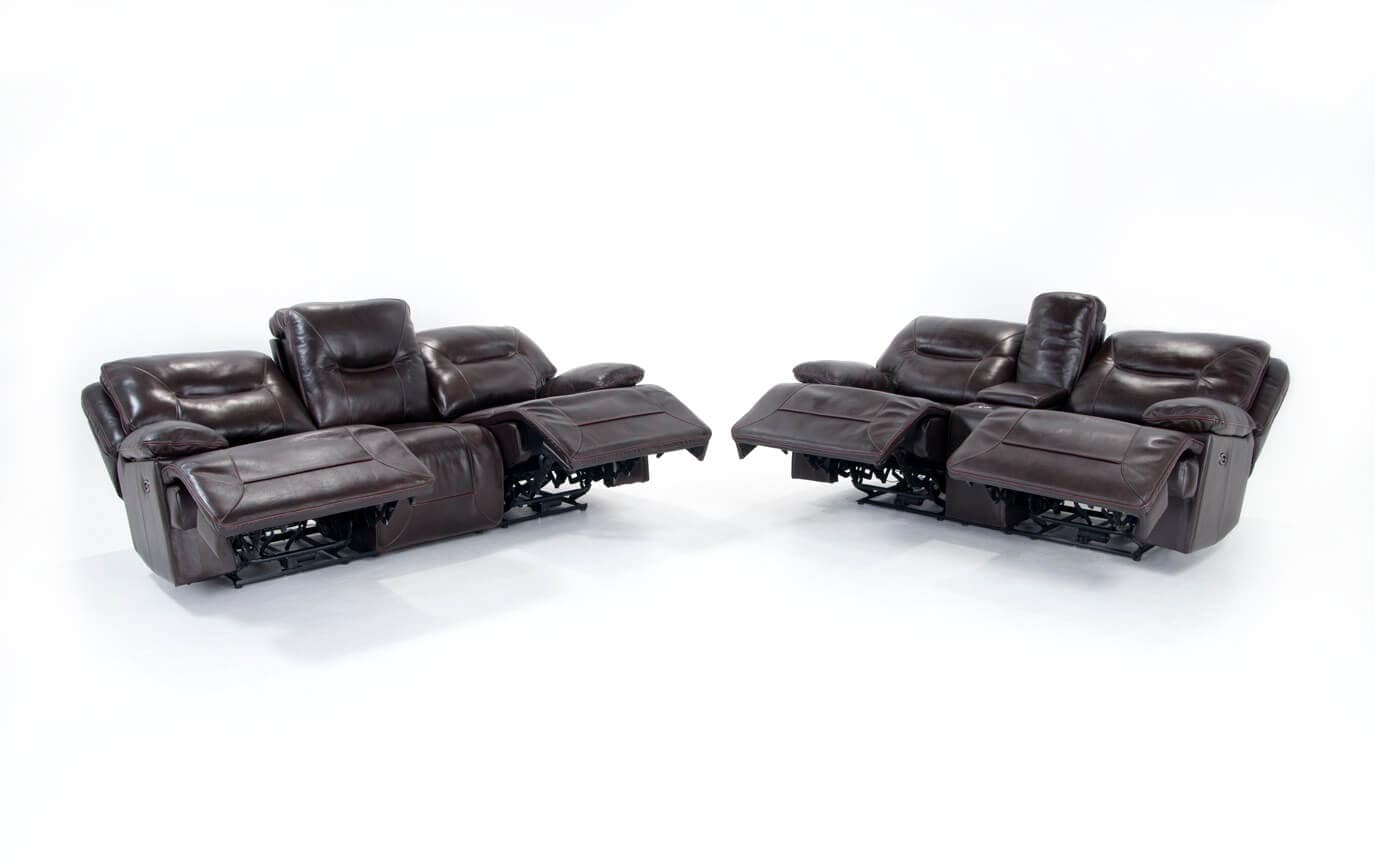Marco Leather Power Reclining Sofa & Power Reclining Loveseat