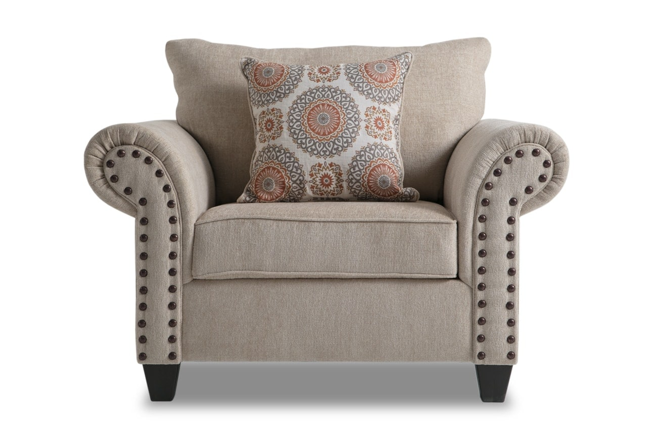 Enjoyable Artisan Beige Oversized Chair Storage Ottoman Bralicious Painted Fabric Chair Ideas Braliciousco