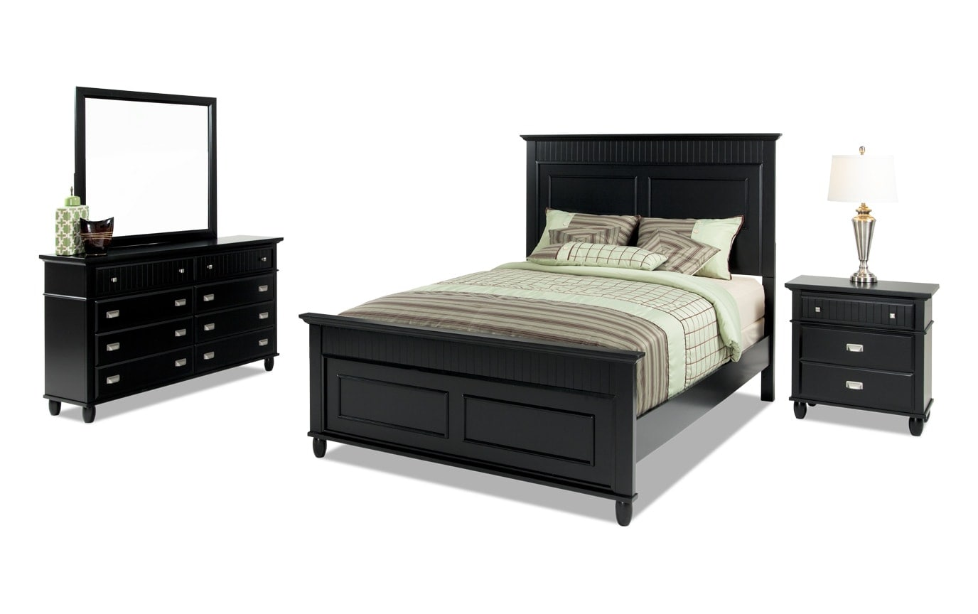 Spencer Full White Bedroom Set