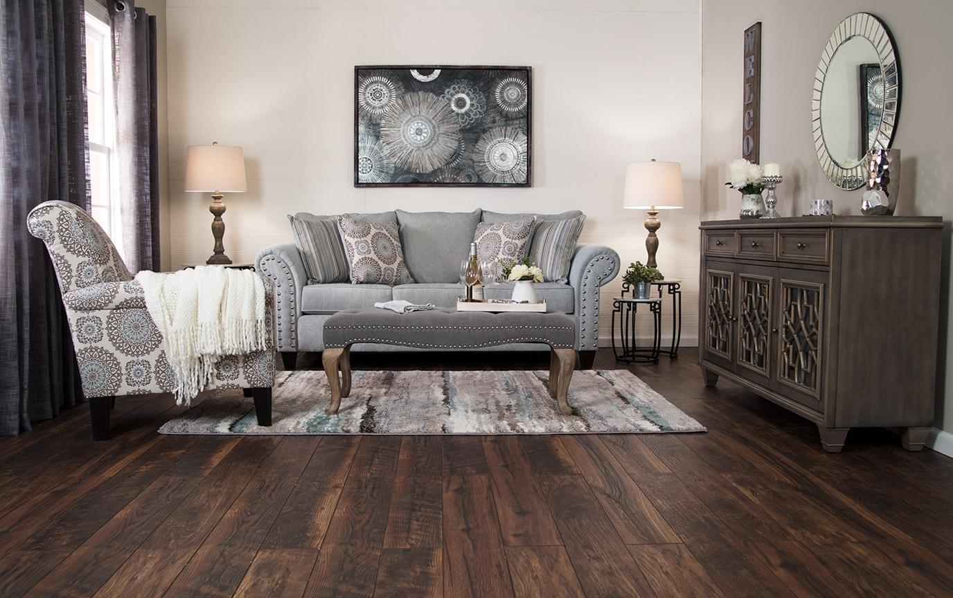Artisan Blue Sofa Set