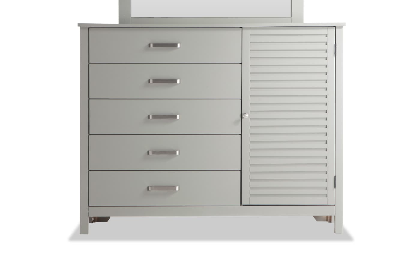 Dalton Twin Gray Storage Bedroom Set