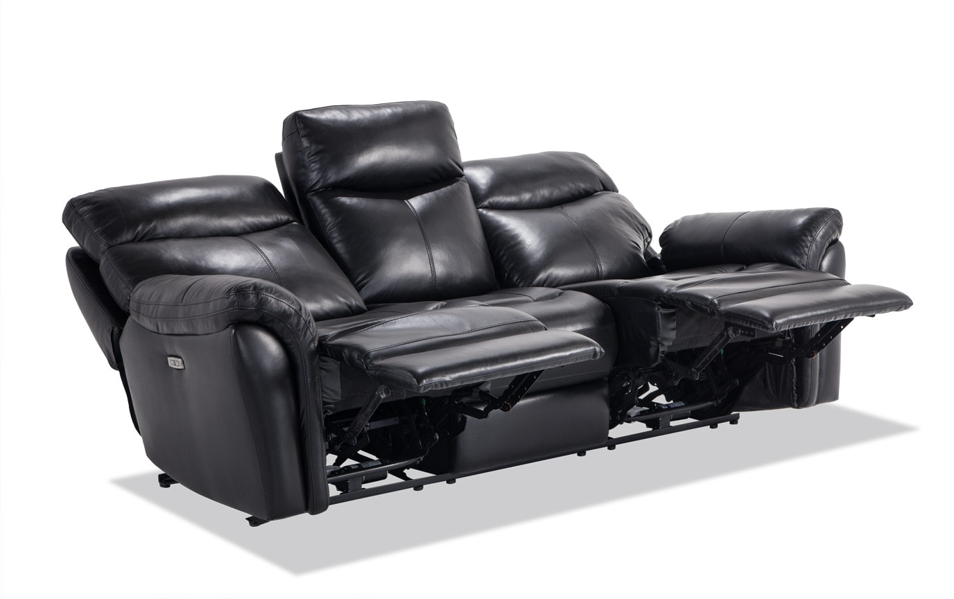Dynamic Leather Power Reclining Sofa