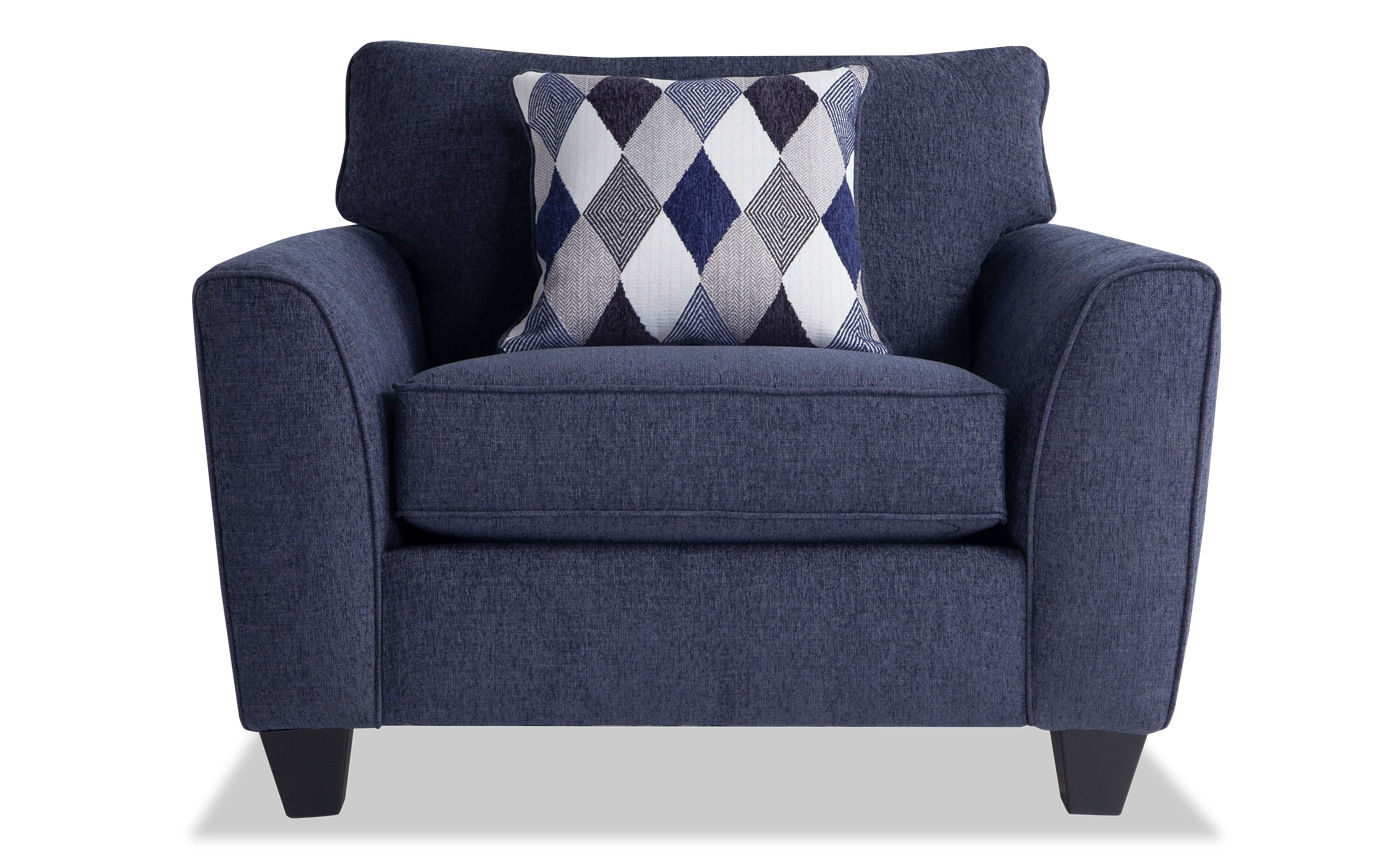 Pleasing Capri Denim Bob O Pedic Sleeper 2 Chairs Home Interior And Landscaping Oversignezvosmurscom