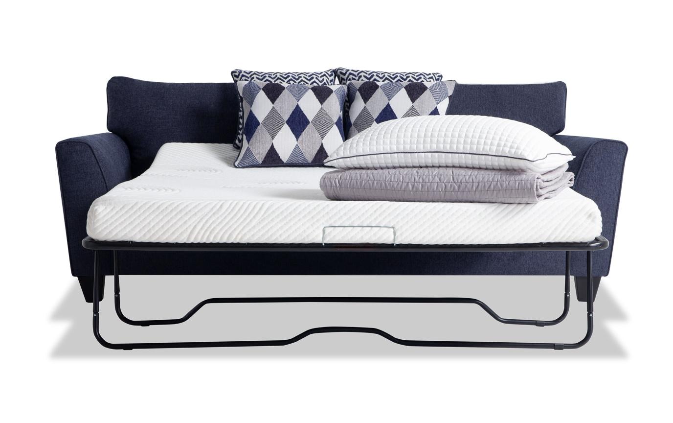 Capri Denim Bob O Pedic Sleeper Sofa Bobs Com