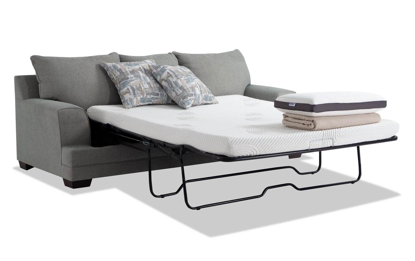 Super Harmony Beige Bob O Pedic Queen Sleeper Sofa Chair Storage Ottoman Cjindustries Chair Design For Home Cjindustriesco