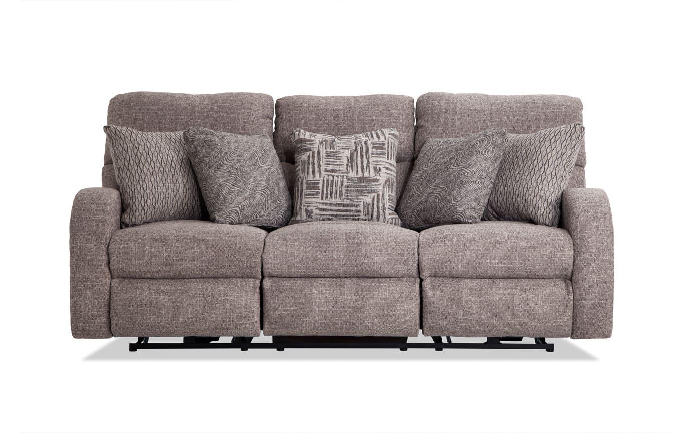 Titanium Lay-Flat Power Reclining Sofa