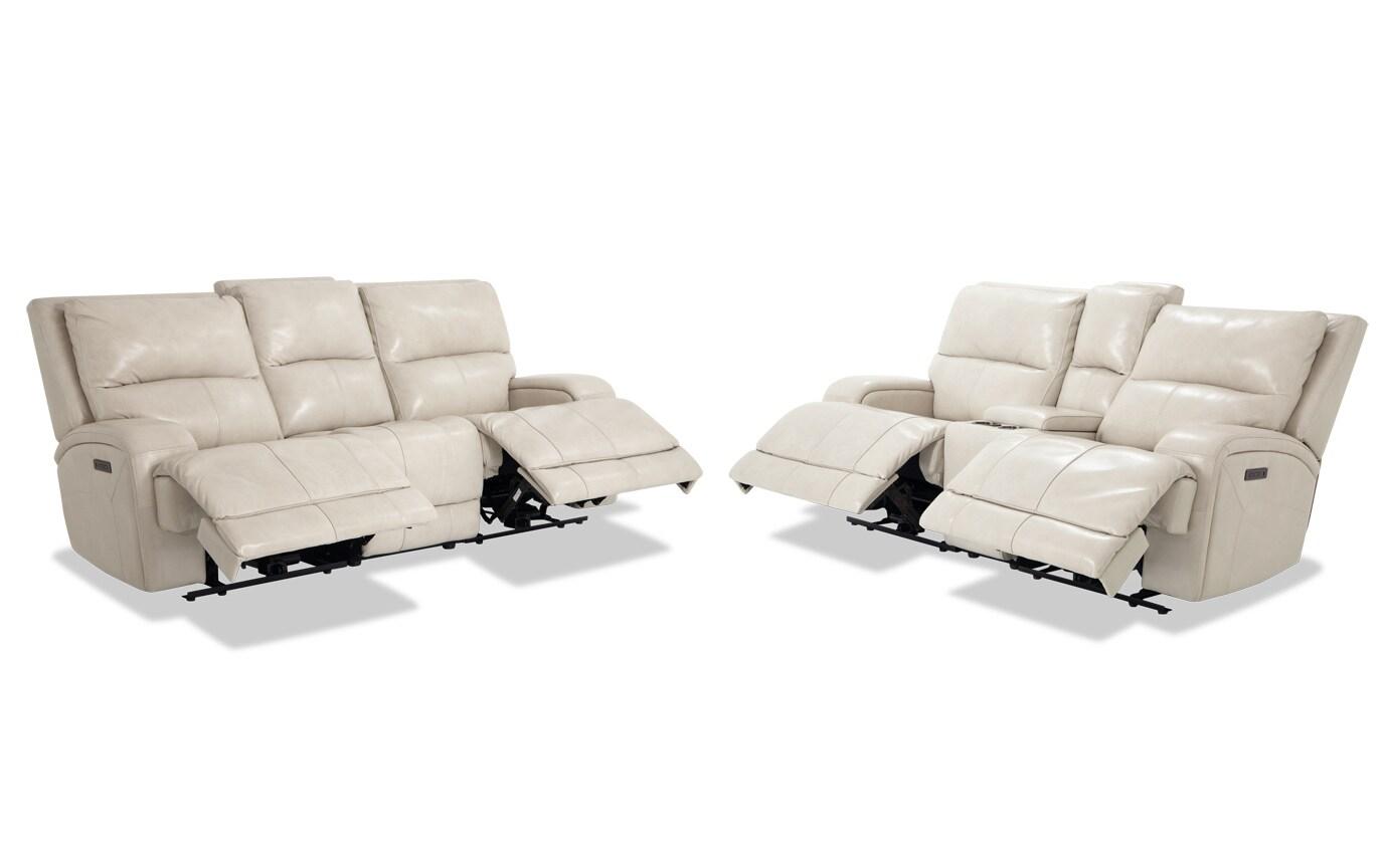 Astounding Cascade Navy Power Reclining Sofa Console Loveseat Frankydiablos Diy Chair Ideas Frankydiabloscom