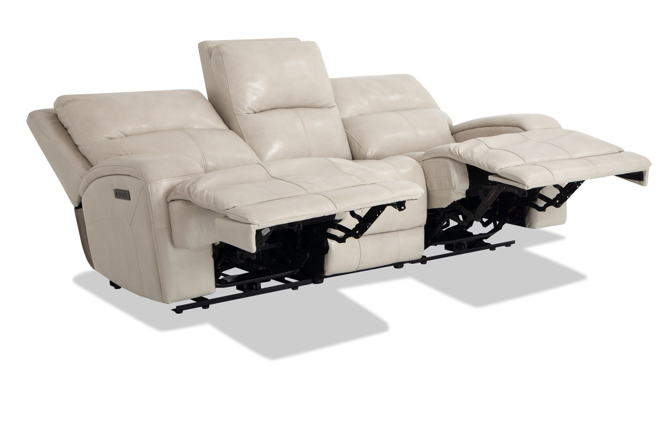 Tremendous Cascade Navy Power Reclining Sofa Console Loveseat Frankydiablos Diy Chair Ideas Frankydiabloscom